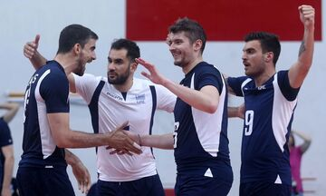 Silver European League Volley ανδρών:  Ελλάδα - Aυστρία(19.30, Live Score)
