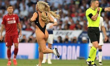 Ιnstagram: H τιμωρία για τη «γυμνή εισβολή» στον τελικό του Champions League