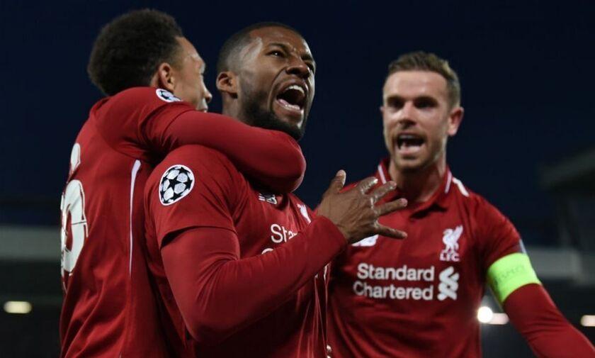 Με 6 παίκτες της Λίβερπουλ και πέντε του Άγιαξ η καλύτερη ομάδα του Champions League (pic)