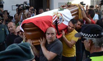 Η κηδεία του Ρέγιες (vid)