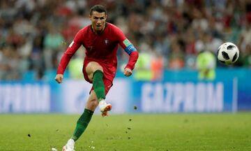 Πορτογαλία - Ελβετία: Το γκολ του Ρονάλντο με απευθείας εκτέλεση φάουλ (vid)