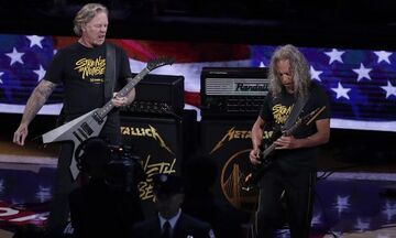 Οι Metallica στους τελικούς του NBA (vid)