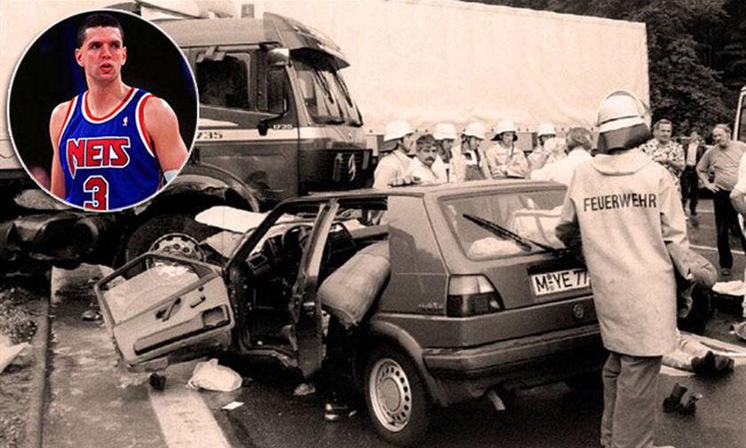 7/6/1993: Το μοιραίο αυτοκίνητο, στο οποίο επέβαινε ο Ντράζεν Πέτροβιτς (pics+vid)