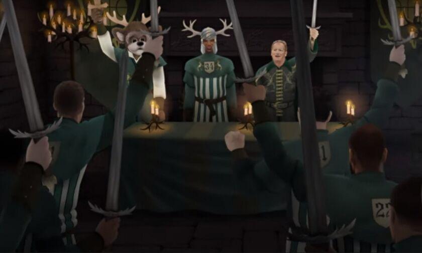 O Γιάννης Αντετοκούνμπο πρωταγωνιστεί στο Game of Zones - Ο Βασιλιάς της Ανατολής (vid)