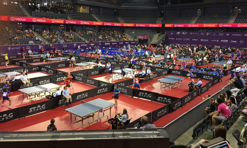 Πινγκ-Πόνγκ: Η κλήρωση στα γκρουπ του Ευρωπαϊκού πρωταθλήματος νέων για τις εθνικές μας ομάδες
