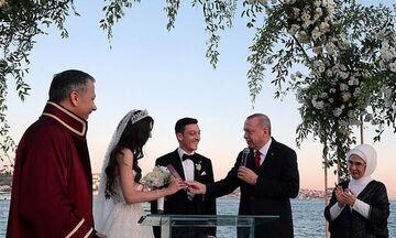 Ο Ερντογάν πάντρεψε τον Μεσούτ Οζίλ (pic-vid)