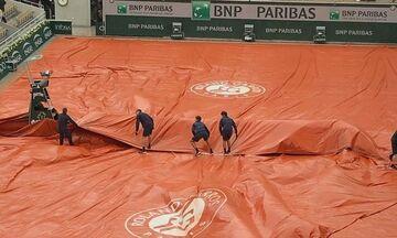 Roland Garros: Νέα διακοπή στον ημιτελικό Τζόκοβιτς - Τιμ