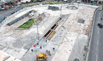 Να πως είναι η πλατεία Ομονοίας και η θέα στη ... Σαχάρα(pics)