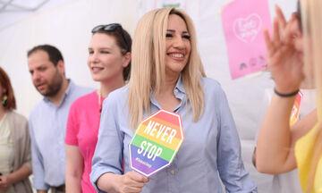 Γεννηματά, Δούρου, Γερουλάνος και άλλοι στο Athens Pride 2019 (pics, vid)