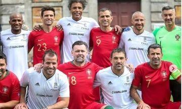 Ο Καραγκούνης με τους UEFA Legends στην Πορτογαλία (pic)