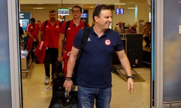 Ολυμπιακός: Επέστρεψαν Ελλάδα οι δευτεραθλητές Ευρώπης (pics)