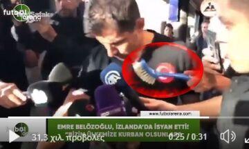 Ισλανδία-Τουρκία: Έξαλλοι οι Τούρκοι. Έμειναν τρεις ώρες στο αεροδρόμιο -Συνέντευξη σε βούρτσα (vid)