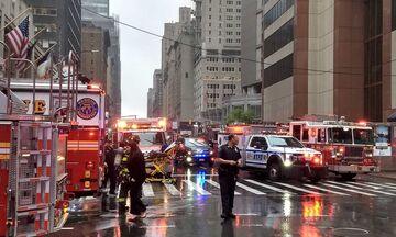 Νέα Υόρκη: Συντριβή ελικοπτέρου σε ταράτσα κτιρίου- Νεκρός ο πιλότος (vid)