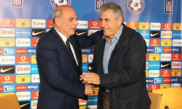 Γραμμένος πριν το ματς με Αρμενία: «Δεν φεύγει ο Αναστασιάδης»