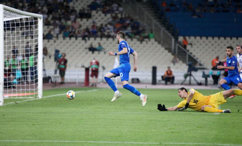Ελλάδα-Αρμενία 2-3: Μόνο η γκολάρα του Φορτούνη άξιζε (vids)