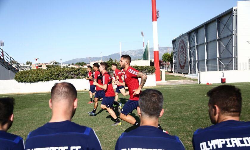 Ολυμπιακός: Οι πρώτες φωτογραφίες από την προετοιμασία (pics)