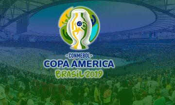 Το τηλεοπτικό πρόγραμμα του Copa America 2019