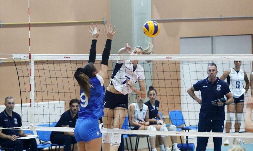 Silver European League: Η Εθνική γυναικών επιβλήθηκε με 3-1 της Εσθονίας