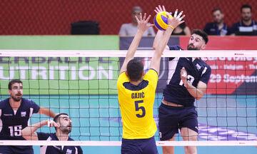 Silver European League: H Ελλάδα κοντά στην πρόκριση, έχασε σετ η Αυστρία