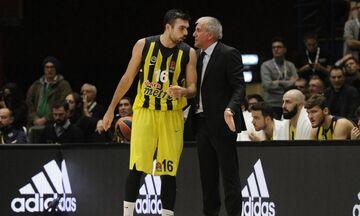 Ομπράντοβιτς για Σλούκα: «Βοήθησε την ομάδα, τον ευχαριστώ που έπαιξε»