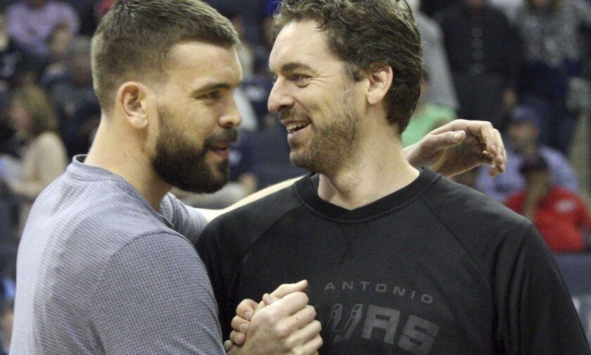 Μαρκ και Πάου Γκασόλ: Τα μόνα αδέλφια με τίτλο στο NBA
