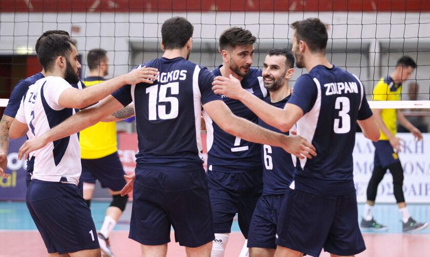 Μονόδρομος η νίκη 3-0 για την εθνική ανδρών κόντρα στη Βοσνία