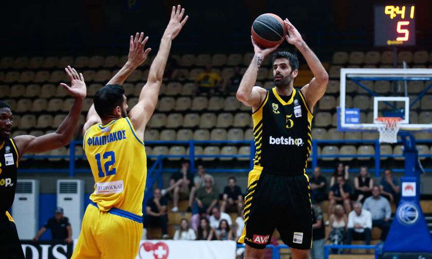 Περιστέρι - ΑΕΚ 82-83: Οι «κιτρινόμαυροι» την τρίτη θέση