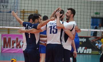 Στον τελικό η Ελλάδα, 3-0  τη Βοσνία