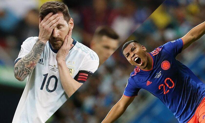 Copa America 2019: Αργεντινή - Κολομβία 0-2. Μέσι... αγνοείται (vid)