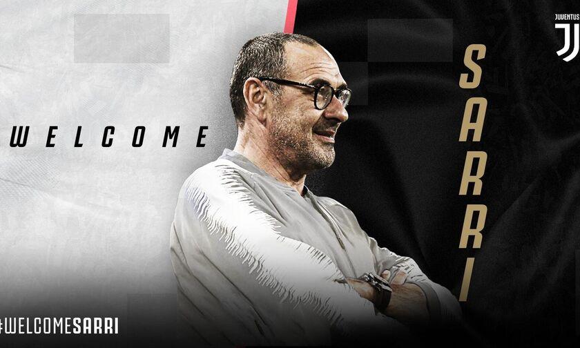 Επίσημο: Προπονητής της Γιουβέντους ο Σάρι