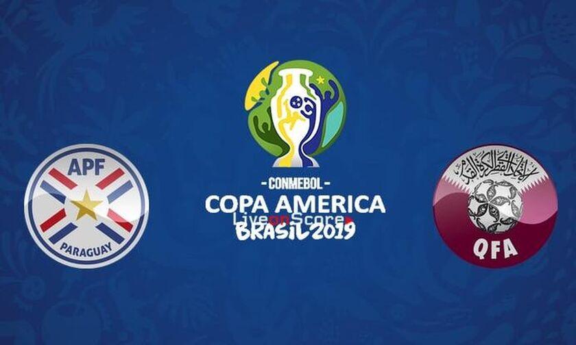 LIVE Streaming: Παραγουάη-Κατάρ 2-2