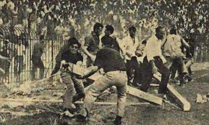 17/6/1964: Ολυμπιακοί και Παναθηναϊκοί κάνουν γυαλιά-καρφιά τη Λεωφόρο (vid)