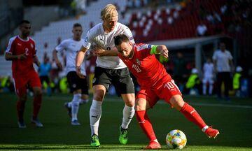 Ήττα με 2-0 για τη Σερβία του Ραντζέλοβιτς