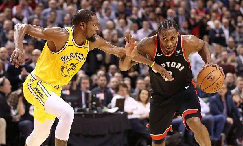 Ράπτορς - Ουόριορς: Το top-10 των τελικών του NBA! (vid)