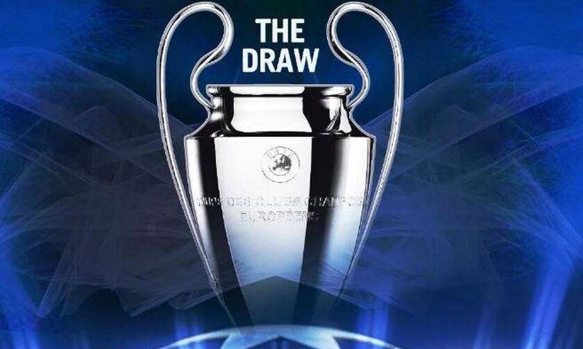 Η κλήρωση στον 1ο προκριματικό γύρο του Champions League