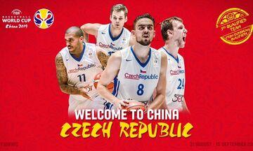 2019 FIBA Basketball World Cup: Σατοράνσκι και Βέσελι στην προεπιλογή της Τσεχίας