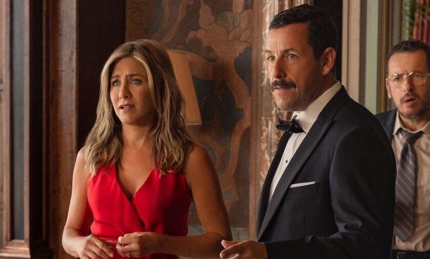 Ο Adam Sandler και η Jennifer Aniston εκτοξεύουν την τηλεθέαση του Netflix (vid)
