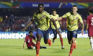 Copa America 2019: Κολομβία - Κατάρ 1-0 και πρόκριση στο 86' (vid)