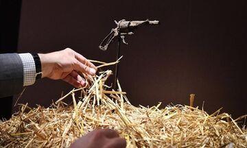 Στην τιμή των 130.000 ευρώ πωλήθηκε το όπλο, με το οποίο αυτοκτόνησε ο ζωγράφος Βαν Γκογκ
