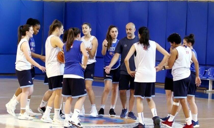 Στα Σκόπια η Εθνική Νεανίδων μπάσκετ