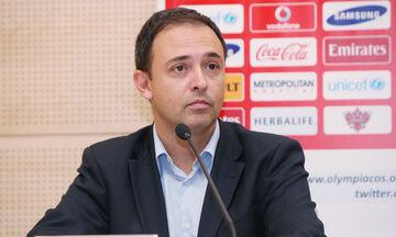 Γαβαλάς: «Για τον αθλητισμό και τον Ολυμπιακό, χωρίς στείρες συγκρούσεις και αποκλεισμούς »