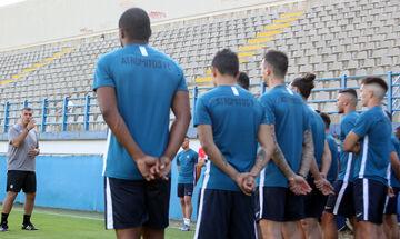Ατρόμητος: Έγινε η πρώτη γνωριμία του Αναστασίου με τους παίκτες
