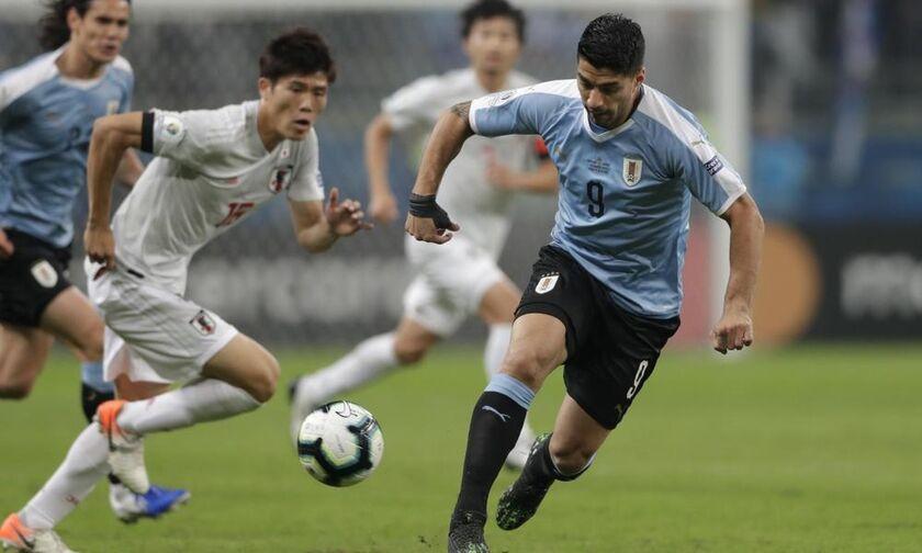 Copa America 2019 - Ουρουγουάη – Ιαπωνία 2-2: Τους λαχτάρισε ο Μιγιόσι