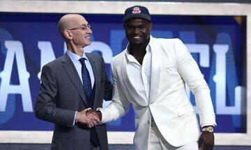 NBA Draft 2019: Ο Νο1 Ζάιον Ουίλιαμσον και οι άλλοι 59 που επιλέχθηκαν