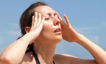 Καλοκαίρι 2019: Ηλίαση - Tips για πρόληψη και αντιμετώπιση