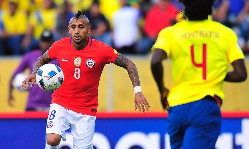 Live Streaming: Εκουαδόρ-Χιλή (02:00)