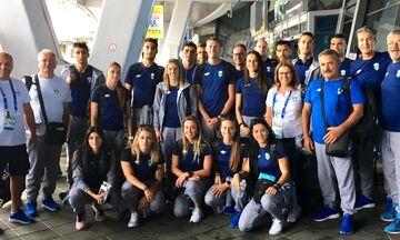 Στο Μινσκ η εθνική ομάδα στίβου για τους2ους Ευρωπαϊκούς Αγώνες (pic)