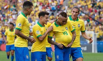 Copa America 2019: Περού - Βραζιλία 0-5 με... σάμπα και «μαγικά» γκολ (vid)