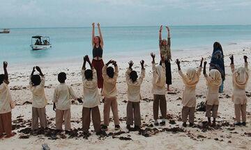 Η Αθηνά Παπαφωτίου στην Ζανζιβάρη για ανθρωπιστικό σκοπό