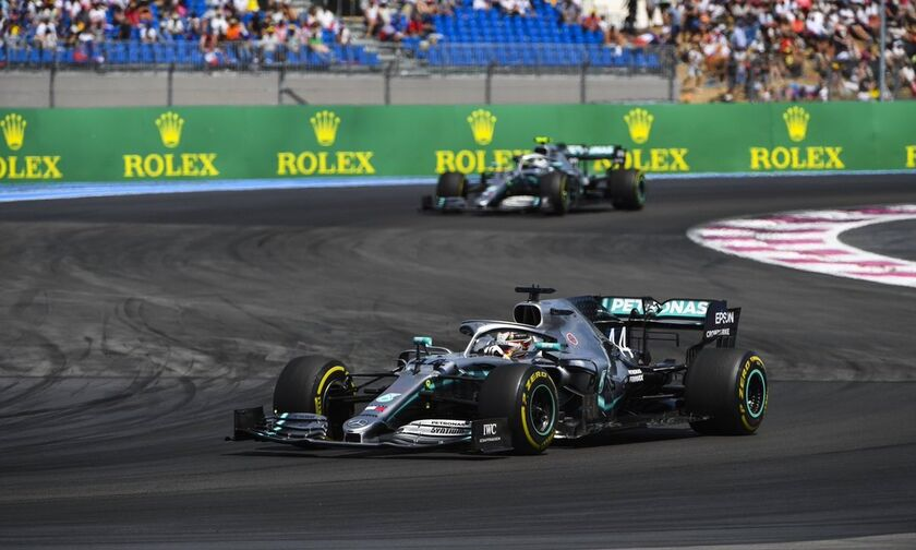 Grand Prix Γαλλίας: Νίκη για τον Χάμιλτον στο 1-2 της Mercedes